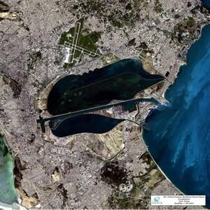 Wysokorozdzielcze zdjęcia z kazachskich satelitów na platformie Creodias <br /> Tunezja, zdjęcie wykonane przez satelitę KazEOSat-1