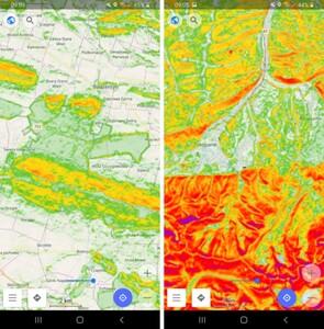 OsmAnd 3.7, czyli mapy spadków w smartfonie