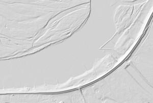 IMGW zamawia skaning wałów przeciwpowodziowych <br /> fot. Geoportal.gov.pl
