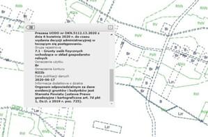 Użytki i kontury klasyfikacyjne w KIEG oraz Geoportalu