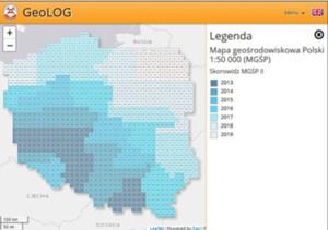 Mapa Geośrodowiskowa Polski już w internecie <br /> Skorowidz MGśP II