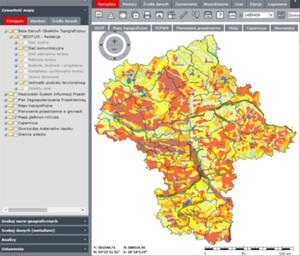 Rusza modernizacja mazowieckiego SIP-u <br /> Serwis mapowy UMWM