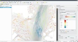 Mesh i czas, czyli co nowego w QGIS 3.14 <br /> Nowe opcje wizualizacji modeli mesh