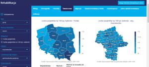 Resort zdrowia udostępnił interaktywne mapy do analizy potrzeb zdrowotnych
