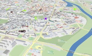 Metropolia poznańska chce mieć wspólny SIP <br /> Model 3D Poznania dostępny w miejskim geoportalu