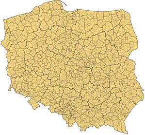 Na mapie Polski będzie 10 nowych miast, a jeden powiat zmieni nazwę