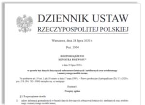 Nowe rozporządzenie fotogrametryczne opublikowane