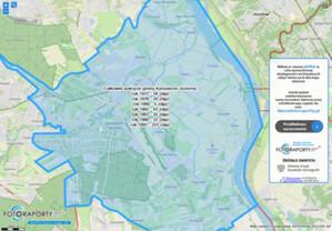 Mapa pokrycia Polski historycznymi zdjęciami lotniczymi