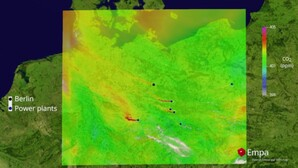 Rusza budowa europejskiego satelity do pomiaru stężenia dwutlenku węgla <br /> Symulacja stężenia CO2 w ramach finansowanego przez ESA projektu Empa