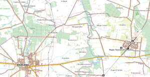 Łódzkie zamawia modernizację BDOT10k <br /> Wizualizacja BDOT10k w Geoportalu
