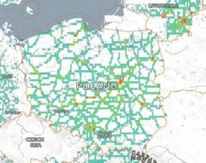 Zobacz, jak Sentinel-2 pomaga monitorować ruch drogowy <br /> Wyniki analizy w portalu RACE