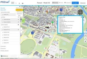 Sensory internetu rzeczy w geoportalu 3D Poznania