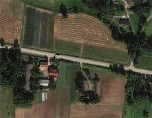 Małopolscy drogowcy zamawiają zdjęcia lotnicze <br /> fot. Google Earth