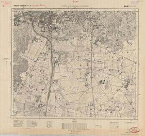 Nowości w zbiorach Archiwum WIG <br /> Mapa topograficzna rejonu wileńskiego 1:10 000, P30-S40-F-2 Wilno Południe, rok 1931