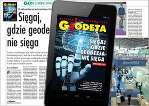 Październikowe wydanie GEODETY cyfrowego już do pobrania