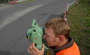 Prace na drogach dla Geomapu <br /> fot. MP