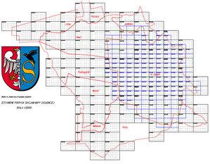 Powiat zwoleński: przetarg na mapę zasadniczą