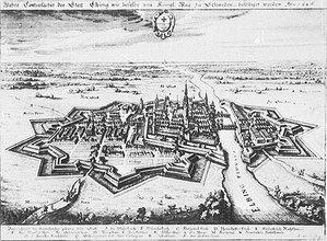 Jeden chętny na elbląskie dane <br /> Elbląg w 1626 r. (źródło: Wikipedia)
