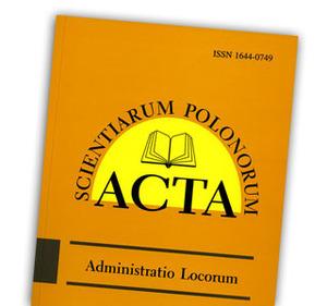 Acta o prawie Reilly'ego w gospodarowaniu przestrzenią