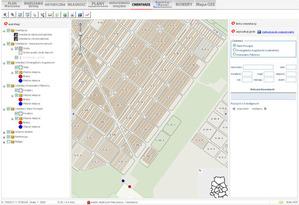 Największy cmentarz Warszawy w serwisie mapowym <br /> fot. AW