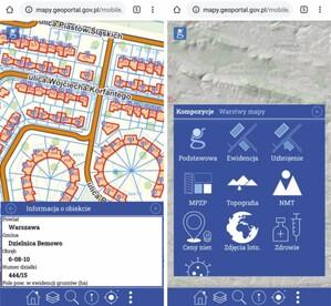 Geoportal bardziej przyjazny dla urządzeń mobilnych