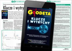 Majowe wydanie GEODETY cyfrowego już do pobrania
