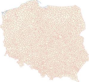 Zmiany na mapie Polski w Dzienniku Ustaw <br /> fot. Wikipedia