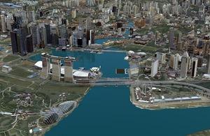 Singapur 3D wśród projektów, które inspirują świat