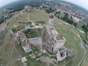 Geoida na zamku w Olsztynie