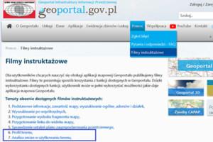 Dwa nowe filmy instruktażowe o Geoportalu