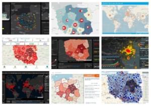 Mapy pandemii koronawirusa [PRZEGLĄD OPRACOWAŃ]