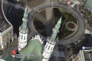 Mapy Google: błąd w modelowaniu czy poprawność polityczna?
