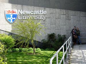 Spotkanie studentów geodezji w Newcastle
