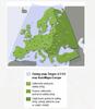 Mapy Europy w Targeo