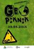 GeoPiknik 2015 już niedługo!