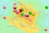 Skutki trzęsienia w Nepalu na mapach i zdjęciach