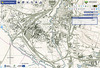 Zagłębie Dąbrowskie na mapie z 1926 roku