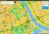 Korki i utrudnienia na drogach na mapach Panoramy Firm