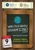 Zapowiedź III edycji Wielkiego Testu Wiedzy Geograficznej