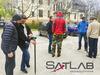 SatLab prezentował sprzęt we Wrocławiu