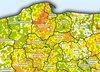 Kościelne statystyki na mapach