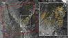 Kalifornijskie pożary widziane z kosmosu