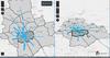 Jaki jest przepływ ludności pomiędzy dzielnicami Warszawy?