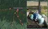 Kartowanie GPS-ami wysypisk śmieci na szlakach w Gorcach
