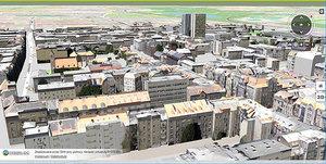 Internetowe mapy roku wybrane <br /> Model 3D Poznania