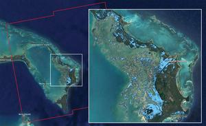 Skutki huraganu Dorian okiem satelity Sentinel-1 <br /> Źródło: NASA