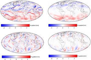 Polscy naukowcy opracowali modele, które usprawnią pomiary satelitarne <br /> Źródło: IGIG UPWr