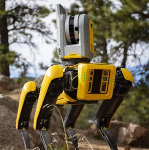 Trimble pracuje nad robotem do celów geodezyjnych