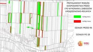 Najlepsze prace scaleniowe nagrodzone <br /> I miejsce wśród projektów scaleń - obiekt Wojsławice