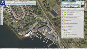 Nowe ortofotomapy z pikselem 25 cm w Geoportalu <br /> Olsztyn